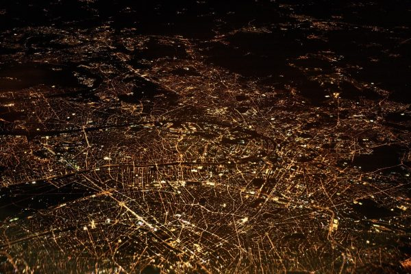 Syndicats d'Energie aerial view cityscape city light Photo via Visualhunt.com GEO.Lux Bureau